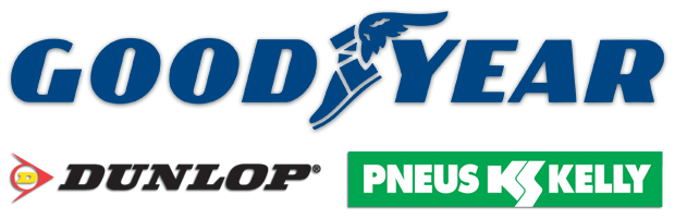 pneus automobile Goodyear, dunlop, Kelly