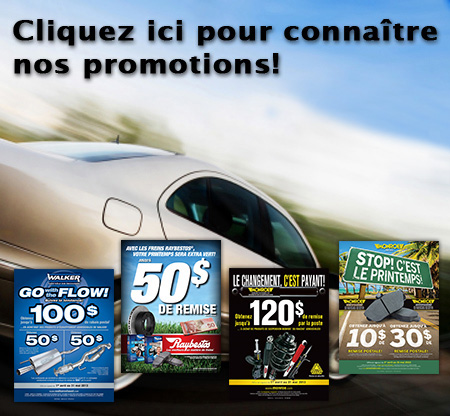 promotions automobiles Garage Auto Select Casselman